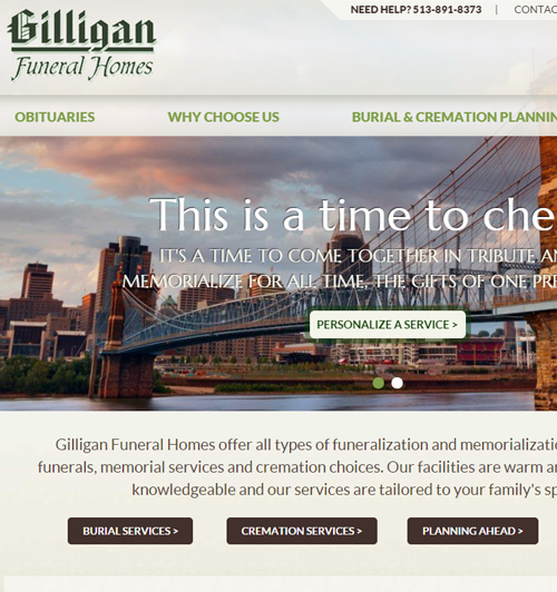 Gilligan Funeral Homes