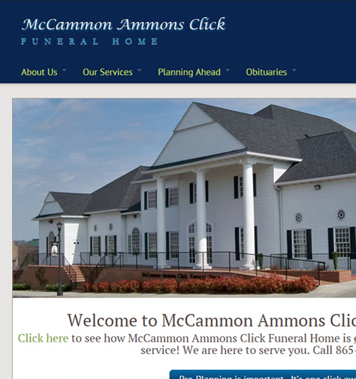 McCammon Ammons Click Funeral Home
