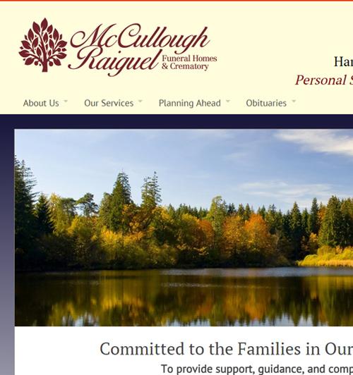 funeralnet: custom funeral home website design - pre-designed, Powerpoint templates